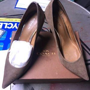 Coach women heels .